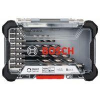 Bosch Impact Control HSS Bohrerset 8-tlg. Metallbohrer HSS-Bohrer Spiralbohrer