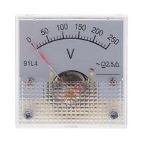 DC Analog Meter-Panel Messgeräte Voltmeter Größe 0-250V