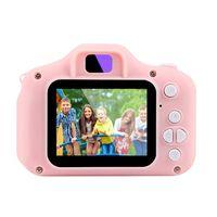 Kinderkamera, 2000-W-Pixel-Farbdisplay und 32-GB-SD-Kartenkamera, Kindergeschenk, Minikamera (Rosa, Einzelkamera)