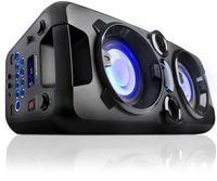 Blaupunkt PS1000 Bluetooth Boombox Lautsprecher Ghettoblaster, Musikanlage, Akku, 60W RMS, USB, Mikrofon