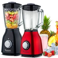 1400W Standmixer 1,5L Glas-Behälter BPA-frei Smoothie Maker Blender Ice-Crusher
