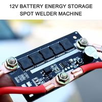 DIY Tragbare 12V Batterie Energiespeicher Punktschweissmaschine Stift PCB Leiterplatte Schweissstrom 90A  130A