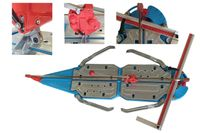 Fliesenschneider 1250 mm Schneidmaschine 9-fache Kugellagerführung
