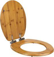 WC Sitz Toilettensitz Klodeckel Toilettendeckel Deckel Klobrille Brille MDF Holz