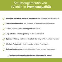 inkl Y101 Eco Line Premio Staubsauger Filter Y99 Y93 Y45 Y50 Y105 20 Staubsaugerbeutel passend f/ür Hanseatic VCB35B15C-1J7W-70 Y95 kompatibel zu Swirl Y05 Fresh 1500 VC-H 4205 1800