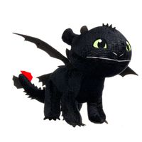 Dragons Ohnezahn schwarz Drachenzähmen leicht gemacht 30cm