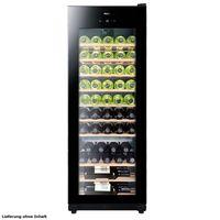 Haier WS50GA Freistehender Weinklimaschrank, Glasdekor, 50 Flaschen, 6-18°C, , 146 kWh/Jahr, 42 dB, Temperaturalarm, Filtersystem
