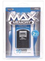 Datel Max Memory Card, PS2, Schwarz