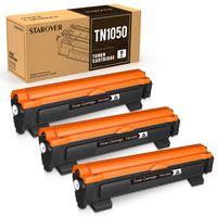 3er-Pack Kompatibel Tonerkartusche als Ersatz für Brother TN-1050 TN1050 für DCP-1510 DCP-1610W DCP-1612W DCP-1512 MFC-1910W MFC-1810 HL-1110 HL-1212W HL-1210W HL-1112, Schwarz