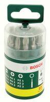 Bosch 2607019454 Bit-Runddsoe 10-tlg.