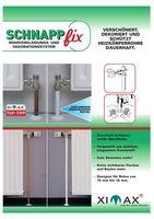 XIMAX Schnappfix Rohrverkleidung in Weiss 3-Fach