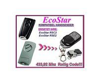 EcoStar RSC2, EcoStar RSE2 kompatibel handsender, ersatz fernbedienung, 433,92Mhz rolling code.  ersatzgerät!