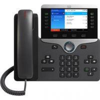 Cisco 8861 IP-Telefon Schwarz, Silber WLAN