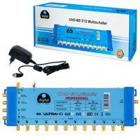 HB-DIGITAL Multischalter UHD-MS 5/12