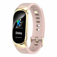 QW16 Frauen Smart Watch Phone Mate Fitness Tracker für Android iPhone/Samsung/LG