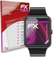 atFoliX FX-Hybrid-Glass Panzerfolie kompatibel mit Chereeki Smart Watch Glasfolie