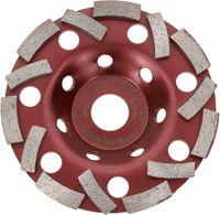 PRODIAMANT Premium Diamant Schleiftopf Schleifteller Beton Topfscheibe Estrich Granit (Extra Speed 125mm / 22,23mm)