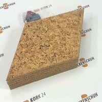 EKB-Kork Pinnwand RHOMBUS Naturkorkfurnier, 300x173,5mm, 8mm stark19