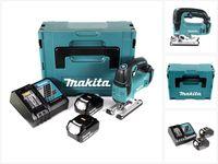 Makita DJV 182 RFJ Akku Pendelhubstichsäge 18V Brushless + 2x Akku 3,0Ah + Ladegerät + Makpac
