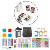 Instant Film Kamera Kit Buch Album Desktop Foto Rahmen für Instax Mini 11 Schwarz Kamerabündel 220 x 160 x 80 mm