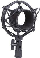 Universal-Mikrofonspinne, für Kondensator-Mikrofone 50 mm schwarz