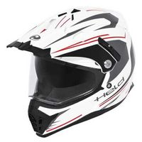 Held Alcatar Motocross Helm Grösse: XL (61/62), Farbe: Weiß/Rot