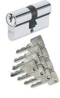 Abus C73 C73N Doppelzylinder (a/b) 30/30mm mit 10 Schlüssel, mit Not- und Gefahrenfunktion