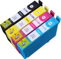 Patronen-Set wie Epson T1285 XL - Je 1 x T1281, T1282, T1283, T1284 für L 355,Stylus Office BX 305 F, Stylus Office BX 305 FW, Stylus Office BX 305 FW Plus,Stylus S 22Stylus SX 125, Stylus SX 130, Stylus SX 230, Stylus SX 235, Stylus SX 235 W, Stylus SX 420 Series, Stylus SX 420 W, Stylus SX 425 W, Stylus SX 430 Series, Stylus SX 430 W, Stylus SX 435 W, Stylus SX 438 W, Stylus SX 440 Series, Stylus SX 440 W, Stylus SX 445 W