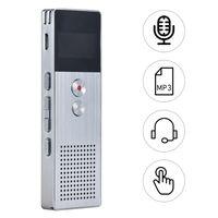 8 GB Digital Voice Recorder Diktiergerät MP3 Musik Player Stereo Sound