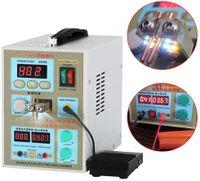 60A 2 in1 LED Punktschweißgerät Punktschweissgerät Akkuladegerät Pulse Schweißgerät Stelle Welder