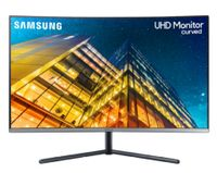 Samsung U32R594CWU dunkelblau, Gaming-Monitor,Curved/4K/Ultra HD/LCD/4ms/HDMI/DP