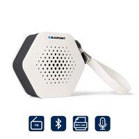 BLAUPUNKT Badradio SRB 10 Bluetooth, UKW-PLL-Radio, 2 Watt RMS, Freisprechfunktion, Bluetooth Musik Streaming und Aux in