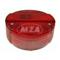 Rücklichtkappe f. Bremsschlußkennzeichenleuchte BSKL, ø 120mm - rot - 3 Schrauben - Lichtaustritt 8522.21-200