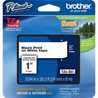 Etikettenband Brother P-touch TZe251 - 24 mm - Rechteck - Thermotransfer - Weiß - 1 Pack