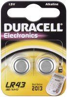 Duracell Knopfzelle Taschenrechner Batterie LR 43 LR43