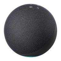 Amazon Echo 4 anthrazit Intelligenter Assistant Speaker