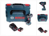 Bosch GDR 18V-160 Akku Drehschlagschrauber 18V 160Nm + 1x Akku 5,0Ah + Ladegerät + L-Boxx