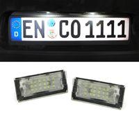 LED Kennzeichenbeleuchtung weiß 6000K für BMW 3ER E46 Coupe 98-03