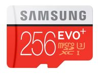 Samsung microSDXC Karte 256GB EVO Plus UHS-1 inkl. SD Adapter