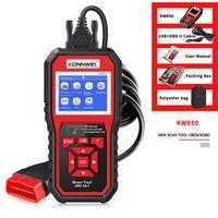 KONNWEI KW850 KFZ Diagnosegerät Fahrzeugautomotor Fehlercode Lesegerät Diagnosescanner OBDII OBD2 EOBD Protokolle