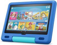 Amazon Fire HD 10 Kids Tablet 2021, 25,6 cm (10,1 Zoll) Full HD Display (1080p), 32 GB Speicher, kindgerechte Hülle in Himmelblau