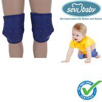 Sevibaby Blau Baby Knieschützer Krabbelhilfe Knieschoner Knieschutz 129-1