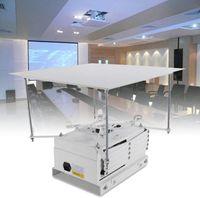 Beamer Deckenhalterung Halter Halterung 1M Motorisierter Projektor Projektorhalterung Lift Electric Deckenlift IR-Fernbedienung und Manuelle Steuerung Projektorheber 10kg
