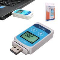 Mini LCD Display USB Temperatur Datenlogger Temperaturdatenlogger Daten Recorder Sensor °C °F RC-5