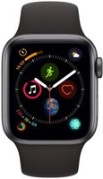 Apple A2007 Watch Series 4 GPS + Cellular 40mm Space Gray - Sportband Black