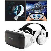 Vr brille vr headset virtuelle realität für smartphone-bildschirm von 4,7-6,53 zoll unterstützung für ios, für android