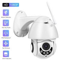 Überwachungskamera Außen Kabellos wlan Outdoor Security Kamera 1080P 2MP IP66 Wasserdicht Nachtsichtkamera Zwei-Wege-Sprache Außenkamera Infraot 30M Smarthome