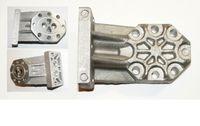 Zahnradpumpengehäuse Ölpumpendeckel für Holzspalter liegend - passend für zb. zb. Scheppach KITY GÜDE ATIKA ALKO BRILL STAHLMANN MacAllister BGU
