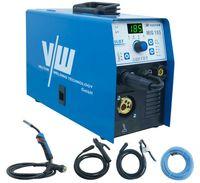 Vector Schweißgerät MIG185 A Schutzgas Inverter Kombi Gerät 4in1 MIG/MAG/WIG/MMA Draht