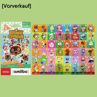 [Vorverkauf] 48 Stück NFC Amiibo Spielkarten für Animal Crossing:New Horizons Series 5, Standard NFC Tag Charakter Spielkarte kompatibel mit Nintendo Switch / Switch Lite/ Wii U/ New 3DS